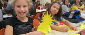 Family Advent activity during K-5 Religious Eduction session at St. Joseph Catholic Church in Ferndale